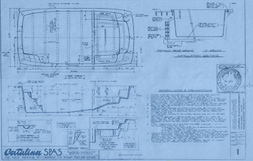 Original Swim Spa Blueprint